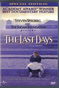 Poster for Steven Spielberg's holocaust documentary, The Last Days